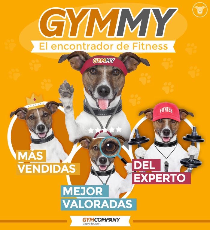 Gymmy, el encontrador de fitness
