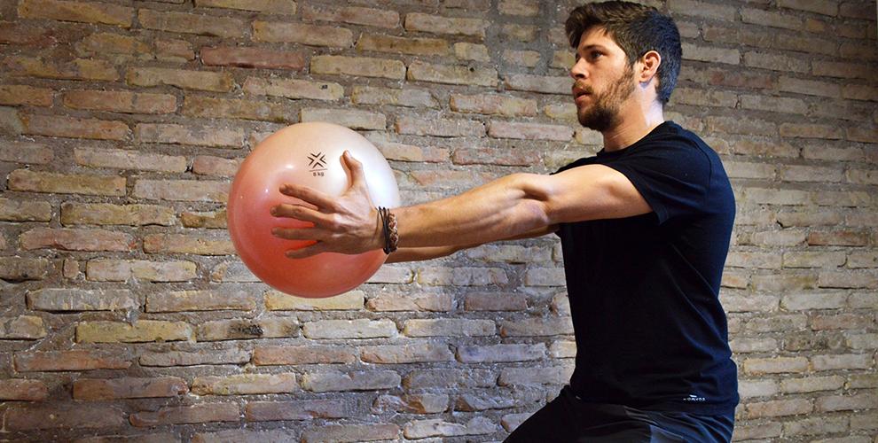 entrenamiento funcional con fluiball 2