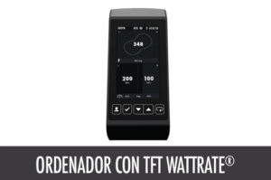 Ordenador TFT Wattrate | Life Fitness Iberia
